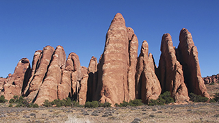 Fins at Arches National Park Widescreen