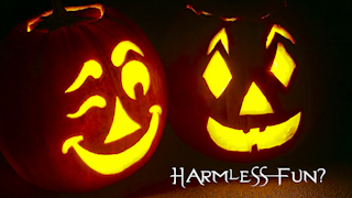 Halloween Pumpkins Harmless Fun? HD background