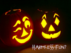 Halloween harmless Fun? Still Background
