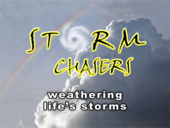 clouds rainbow Storm chasers Title